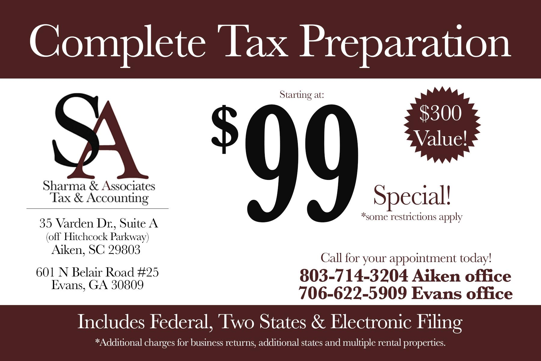 Welcome sharma associates tax accounting coupon falaconquin
